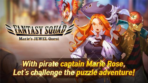 Fantasy Squad : Marie's Jewel Quest screenshot 2