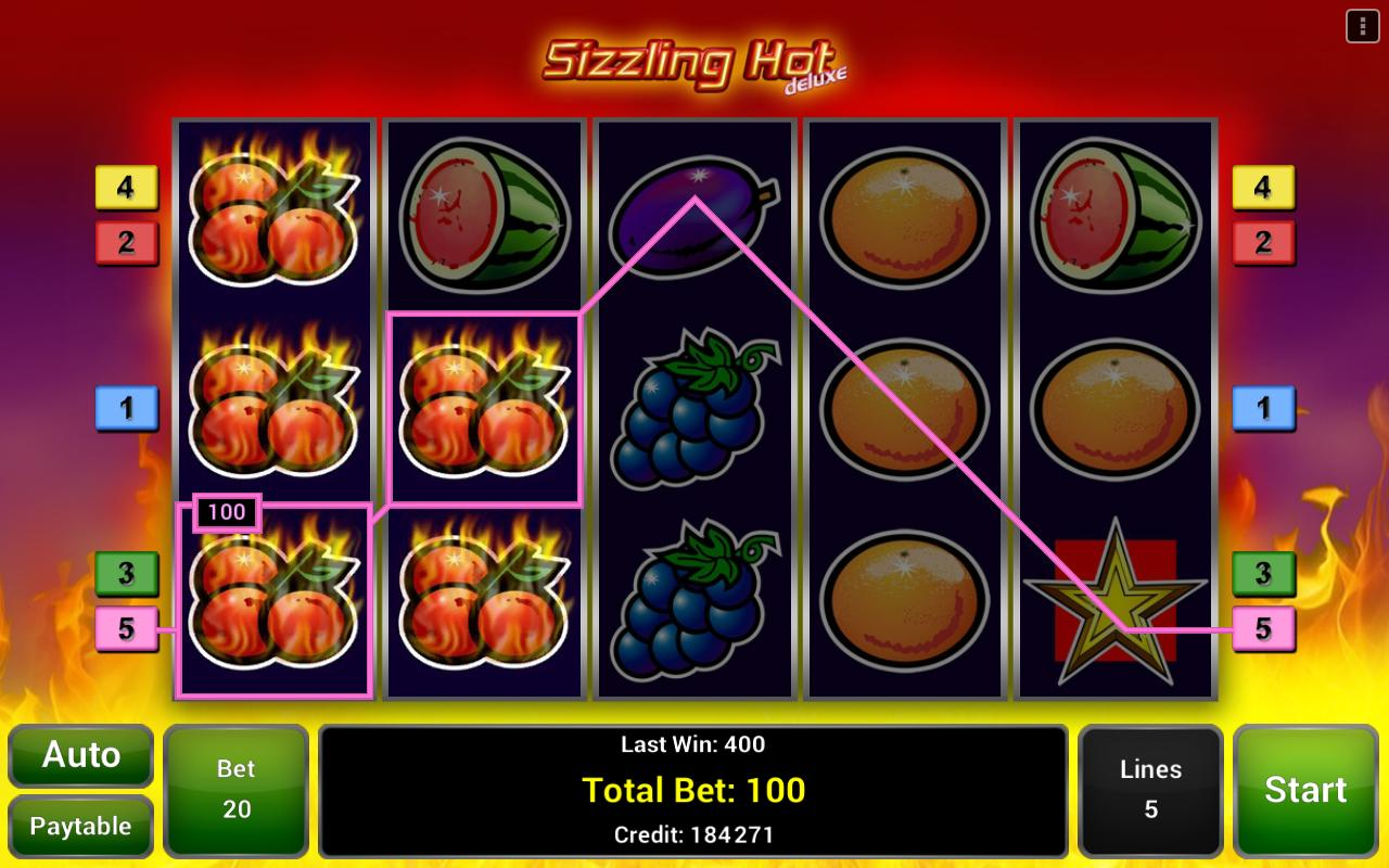 sizzling hot deluxe apk download