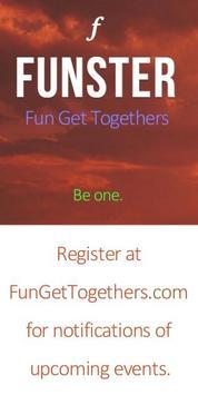 FUNSTER Get-Togethers скриншот 4