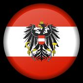 Austria States Geography Free icon
