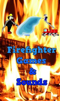Fun Firefighter Games For Kids poster