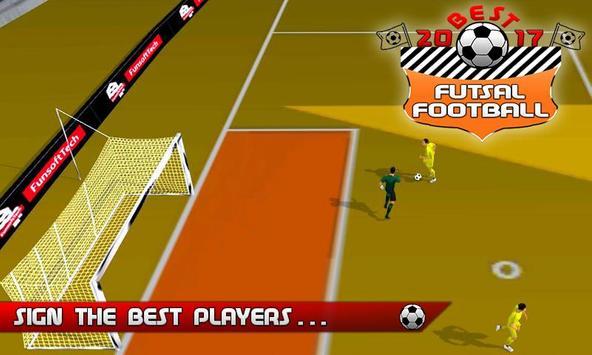 Best Futsal Football 2017 screenshot 2