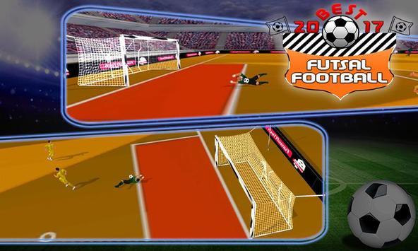 Best Futsal Football 2017 screenshot 3