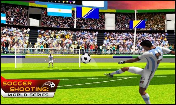 Soccer Shooting : World Series screenshot 1