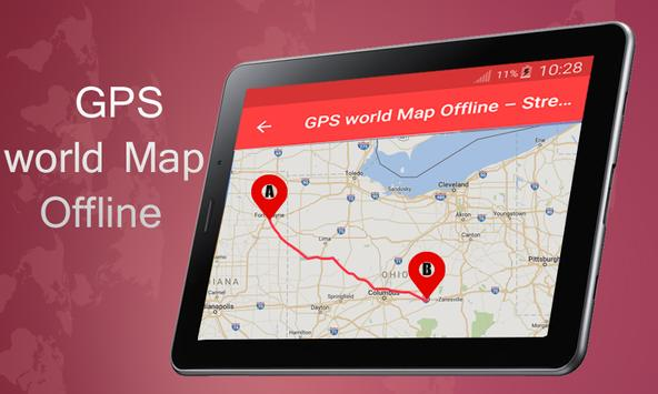 Gps world map offline street view navigation for android apk gps world map offline street view navigation captura de pantalla gumiabroncs Gallery