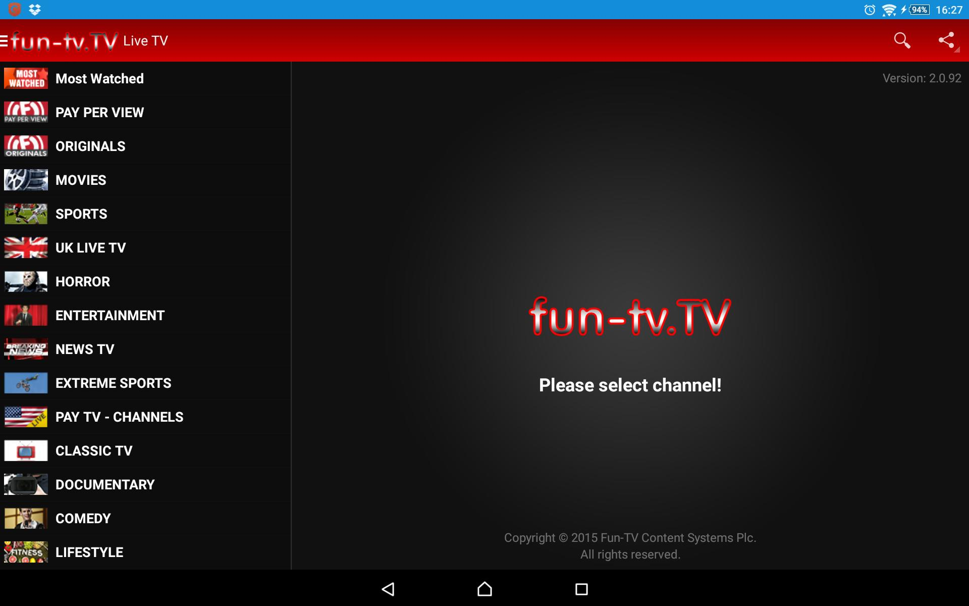 Fun TV for Android - APK Download