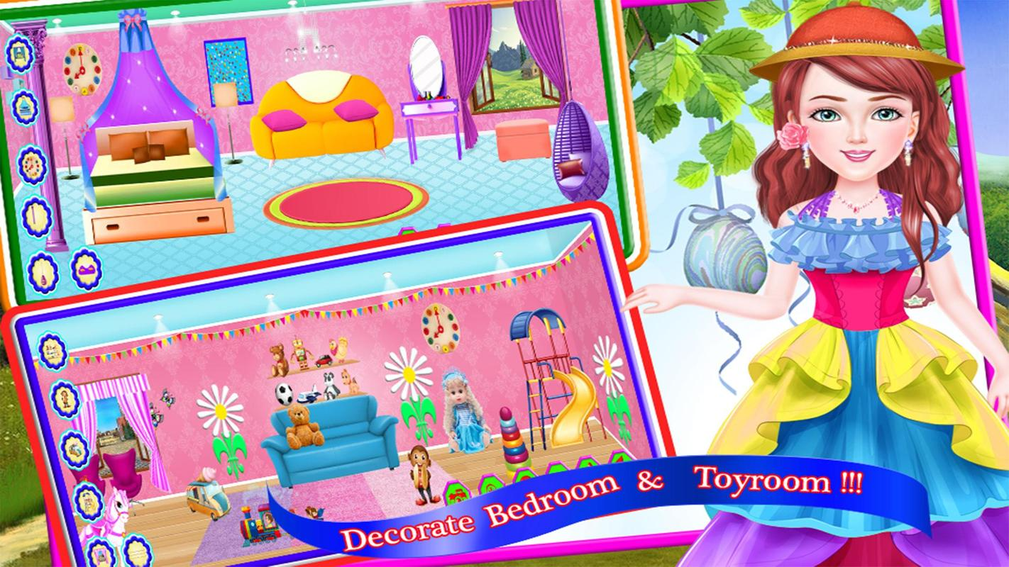 Princess Doll House Interior Decorating Game For Android Apk Download