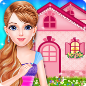 Doll House Decoration Girls Games icon