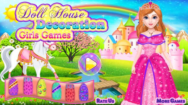 Doll House Decoration Girls Games poster