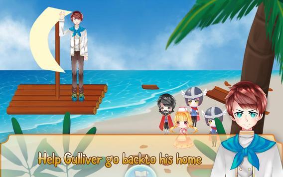 Gulliver's Travel, Kids Bedtime Storybook Stories screenshot 4