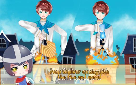 Gulliver's Travel, Kids Bedtime Storybook Stories screenshot 8