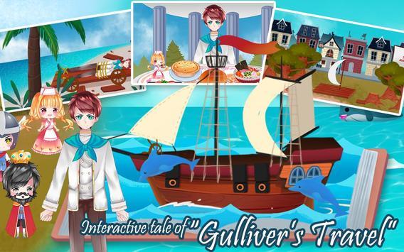 Gulliver's Travel, Kids Bedtime Storybook Stories poster