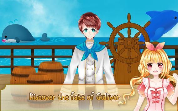 Gulliver's Travel, Kids Bedtime Storybook Stories screenshot 11