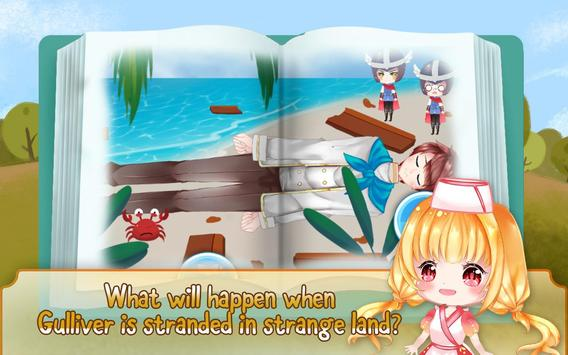 Gulliver's Travel, Kids Bedtime Storybook Stories screenshot 1