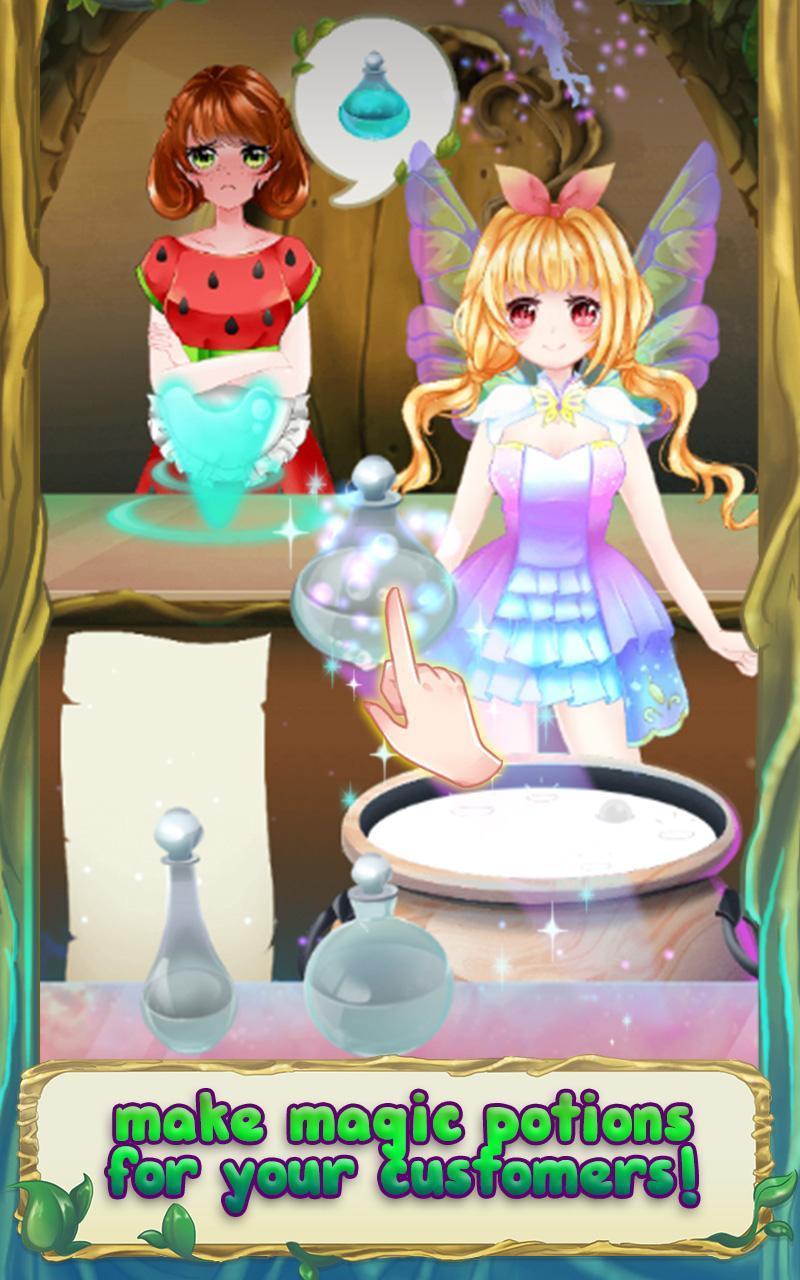 Princess Cherry Magical Fairy Potion Shop Manager cho