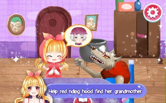 Little Red Riding Hood, Bedtime Book Fairytales screenshot 1