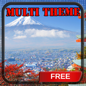 Mount Fuji Japan Multi Theme icon
