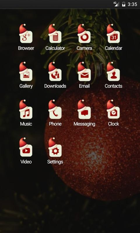 Xmas Tree Happy Day Nova Theme poster