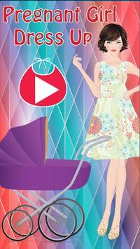 Pregnant Girl Dress Up poster