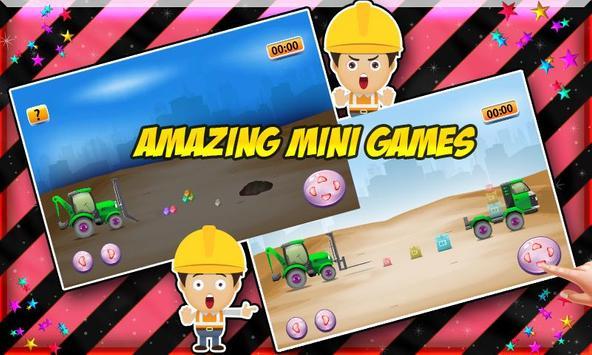 Build Construction Machines poster