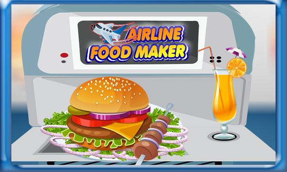 Airplane Food Maker & Cooking apk screenshot
