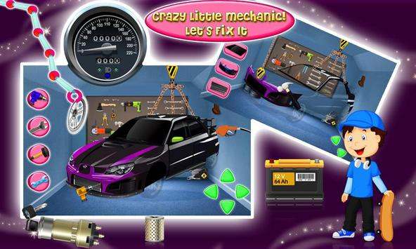 Build my Sports Car & Fix It screenshot 4