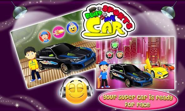 Build my Sports Car & Fix It screenshot 2