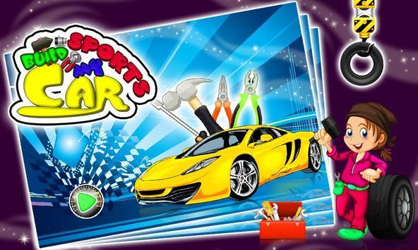 Build my Sports Car & Fix It screenshot 3