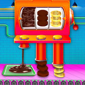 Chocolate Coin Factory: Money Candy Making Games icon