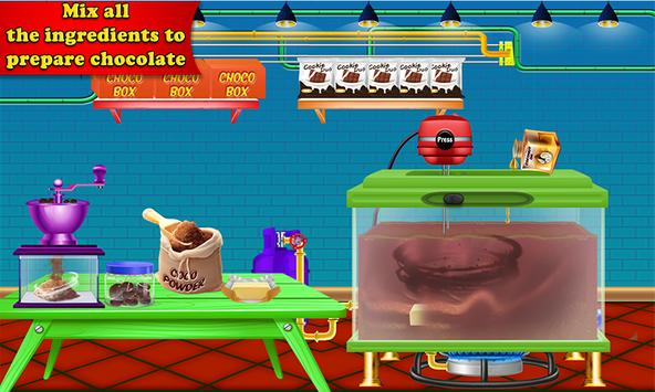 Chocolate Coin Factory: Money Candy Making Games screenshot 13
