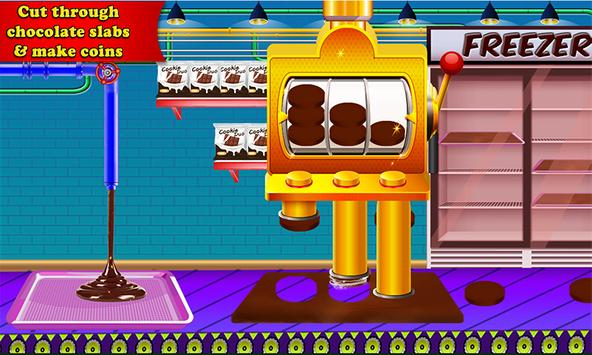 Chocolate Coin Factory: Money Candy Making Games screenshot 2