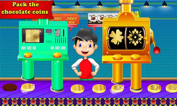 Chocolate Coin Factory: Money Candy Making Games screenshot 3