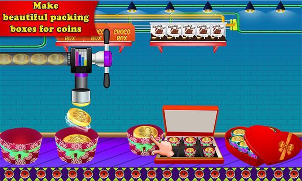 Chocolate Coin Factory: Money Candy Making Games screenshot 5