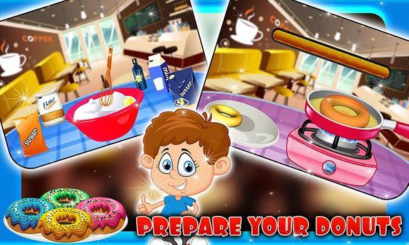 Coffee Maker & Donut Cooking apk screenshot