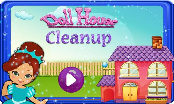 Girls Doll House Cleanup screenshot 3