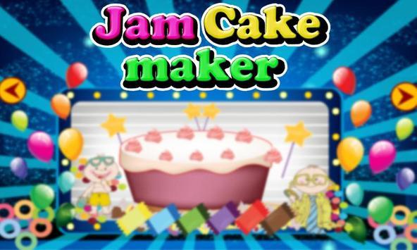 Jam Cake Bakery Shop poster