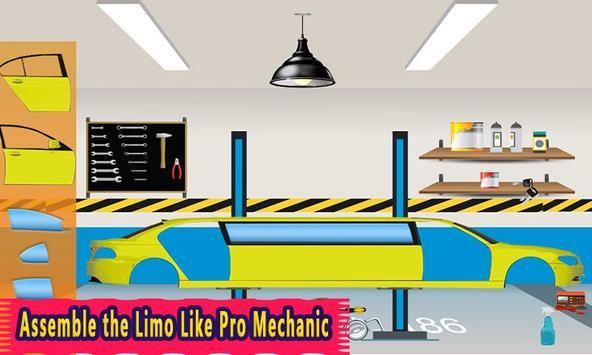 Limo Car Maker & Builder: Auto Cars Workshop Game poster