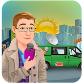 TV Reporter News Adventure: Life Role Story icon