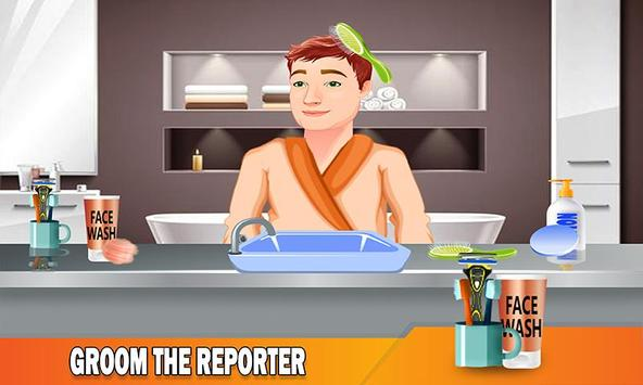 TV Reporter News Adventure: Life Role Story poster