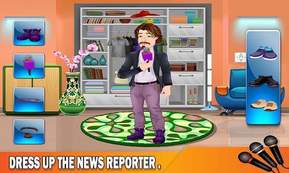 TV Reporter News Adventure: Life Role Story screenshot 1