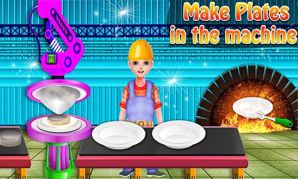 Utensils Maker Factory: Make Plates, Spoon & Fork screenshot 2