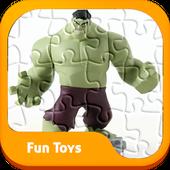 Puzzle Hulk Superhero Toys Kids icon