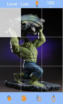 Puzzle Hulk Superhero Toys Kids screenshot 1