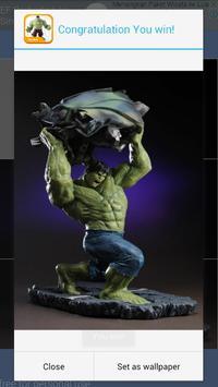 Puzzle Hulk Superhero Toys Kids screenshot 2