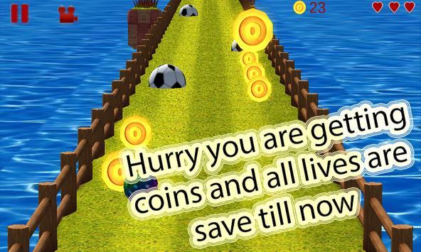 Infinite Run 3d apk screenshot