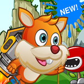 Baby Paw Puppy Patrol - 2D subway Jungle icon