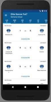 Liga Elite Fut7 Ensenada apk screenshot