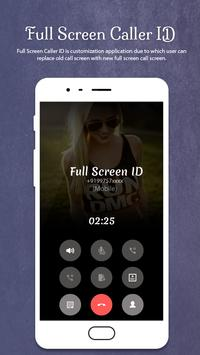 Full Screen Caller ID screenshot 1