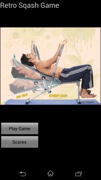 Retro Sqash Game screenshot 1