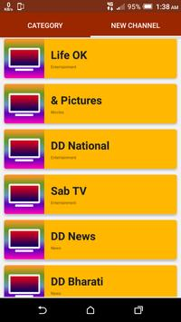 All India TV Channels HD screenshot 4